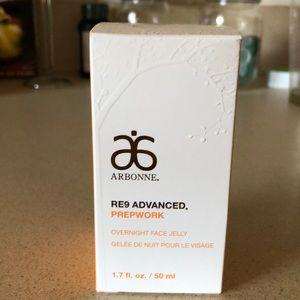 Arbonne RE9 Prepwork Overnight Face Jelly
